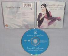 CD SARAH BRIGHTMAN Time To Say Goodbye NEAR MINT