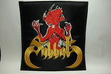 sabbat born by evil blood  EMBROIDERED  PATCH