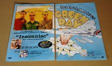 1995 Green Day Insomniac 2pg Japan album promo ad / mini poster advert g11r