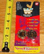 1994 WWF WWE Spin Fighters Tatanka Crush Wrestling Tops MOC Die cast