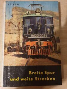 DDR , Breite Spur und weite Strecken , transpress Verlag  , J.Slezak
