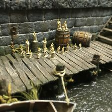 28mm Scatter Terrain 20 Miniature Candles Mordheim Warhammer Frostgrave D&D RPG