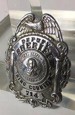 Obsolete Washington King County Deputy Sheriff Police Badge