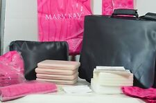 Mary Kay Zippered Product Sample Case & LOTS OF EXTRAS