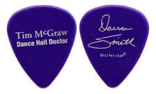 TIM MCGRAW Guitar Pick : 2002 Dance Hall Doctor Tour Darran Smith purple