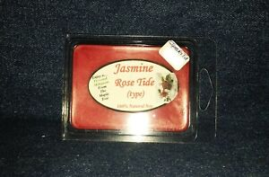 *NEW* Hand Poured Clean Scented Soy Candles Tarts & Votives - Jasmine Rose Tide
