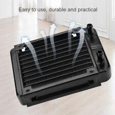 120mm Aluminum Water Heat Exchanger Water Cooling Computer PC Heat Sink Radiator