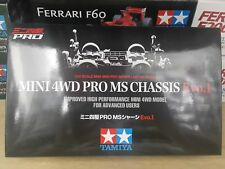 Tamiya 1/32 Mini 4WD PRO MS Chassis Evo.1 Model Car Kit #95263 For Advance Users