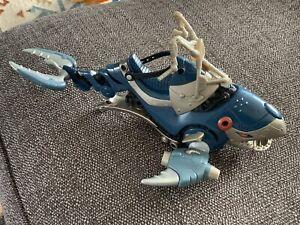 Motu WAR WHALE 2002 200x Masters Of The Universe He-man Vehicle