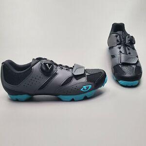 Giro Women's Cylinder Mtb Cycling Shoes Black BOA System Size EU 39 US 7.5
