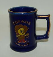 Vintage Conway's Twitty Bird Souvenir Handled Toothpick Holder or Shot Glass