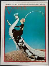 Vogue Fashion Magazine Cover Poster Print Fine Arts Fashion 11/15/1911 Art Deco