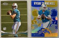 RYAN TANNEHILL RC 2012 Rookie Tennessee Titans Topps Prime Panini Lot non Auto