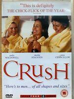 Crush DVD 2001 British Comedy Drama with Andie MacDowell and Imelda Staunton