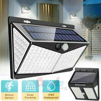 208/250 LED Solar Power Light PIR Motion Sensor Outdoor Lamp Waterproof Garden