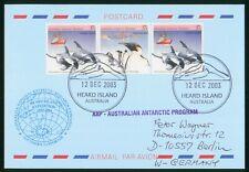 Mayfairstamps Australia 2003 Heard Island Antarctic Proram Expedition Cover wwp7