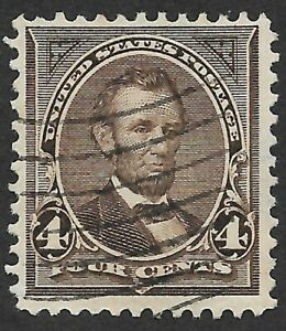 Mr B's US Used 1895 #269 - Abraham Lincoln - Free Shipping