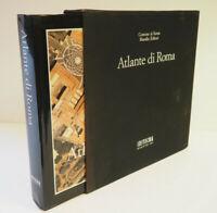 ATLANTE DI ROMA Commune Di Roma, Marsilio Editori HCDJ+Slipcase NF Atlas of Rome