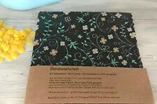 Bio Bienenwachstuch 30 x 30 cm zero waste gift Wachstücher wax wrap plastikfrei