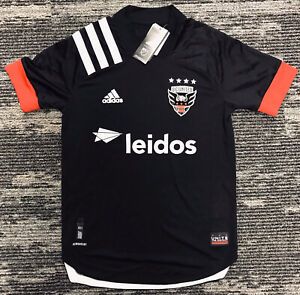 adidas Men's MLS DC United 20/21 AEROREADY Authentic Home jersey EH8688 Size S
