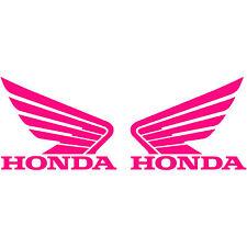 "2x Honda Motorcycle Wing Logo 4"" Vinyl Decal Sticker Car Truck Window Racing"