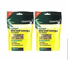 COMVITA Olive Leaf Extract Lozenges With Manuka Honey 40 lozenges x 2 packs FAST