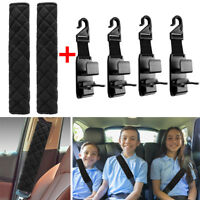 Car Safety Seat Belt Pads Shoulder Strap Auto Cushion Harness Comfortable Cover