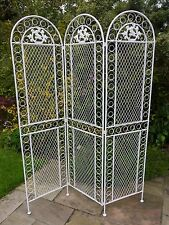 Metal Screen Room Divider French Vintage Style