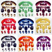 Replacement Full Buttons Mod Kit ABXY, Bumpers, Guide for Xbox 360 Controller