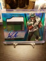 2020 Certified LAMICAL PERINE Freshman Fabric 3 Color Jersey Auto 08/50 Jets RC