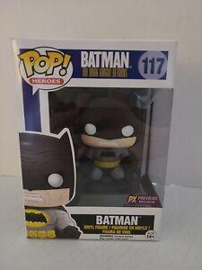 DC POP! The Dark Knight Returns Batman Black Version #117 PX Funko