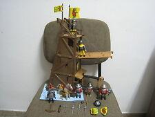 Playmobil - Medieval - Torre de Asalto Asedio Marron Ariete - 3887 - (COMPLETO)