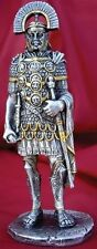 Roman Legion Commander 4.25 Inches Tall (1585) Silver Plated Pewter
