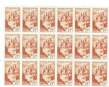YVERT N° 792 x 18 CONQUES TIMBRES FRANCE NEUFS sans charnières