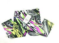 NWT Womens Fabletics Size Small Salar Crop Carnival Print Fitness Capri Pants