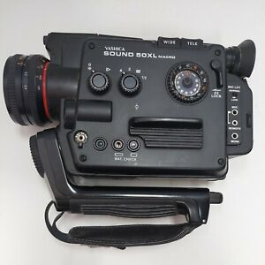 Yashica Sound 50XL Macro Super-8 Camera UNTESTED
