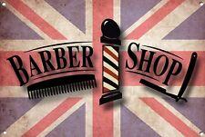 Barber Shop Letrero metal Decor Decoración De Pared Placas 1046