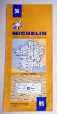Carte MICHELIN N° 56 - Paris - Reims 1974