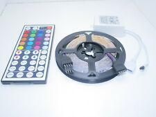 Kit striscia a led rgb smd 3528 12V 5mt con telecomando driver ricevitore 2068