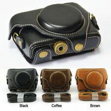Leather Camera Case Bag Grip Strap for Sony Rx100 Mark Iv V Vi Vii M4 M5 M6 M7