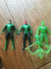 "DC Comics Green Lantern Movie Action Figures 3.75"" bundle lot inc Sinestro"