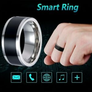 NFC Multifunctional Waterproof Digital Smart Ring Android Finger Rings US Deco