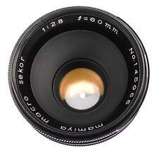 Mamiya 60mm f2.8 Macro Sekor M-42 mount  #145055