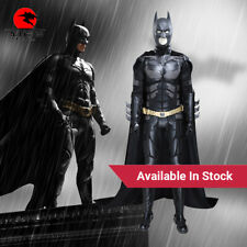 DFYM Batman Cosplay Costume In Stock The Dark Knight Leather Outfit Halloween