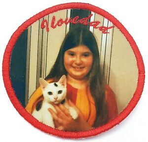 Your Photo, printed patch, custom photo patch, printing fabric patches