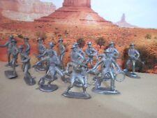 Cowboys Pistoleros soldatini Figurini Vintage Tipo MARX o PRB /SB/