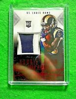 TODD GURLEY ROOKIE JUMBO PATCH CARD RAMS RC 2015 PANINI - PRESTIGE FOOTBALL RC