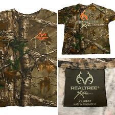 Realtree Extra Youth XL Long Sleeve 100% Cotton Early Season Camouflage Shirt
