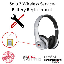 SERVICE REPAIR Beats by Dr. Dre Solo 2 2.0 Wireless Battery Part Replacement