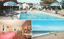 West Harwich Cape Cod Massachusetts~Wishing Well Motel~Interior~Pool~Beach~1960s